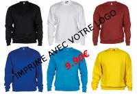 Sweat pour club de sport