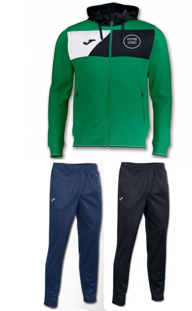 watch latest design popular brand Survêtement pour club Joma Crew II personnalisé